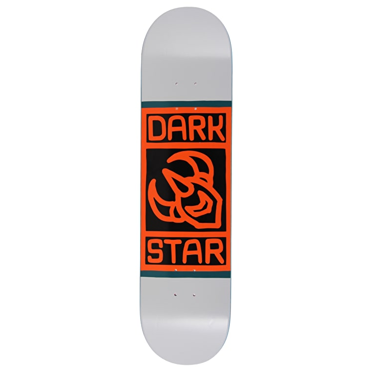Darkstar Block Skateboard Deck - Grey 8""