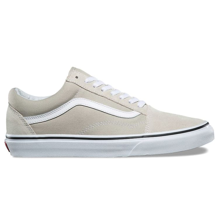 old skool vans silver