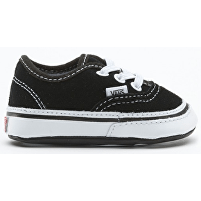 Vans Authentic Crib Shoes - Black/True White