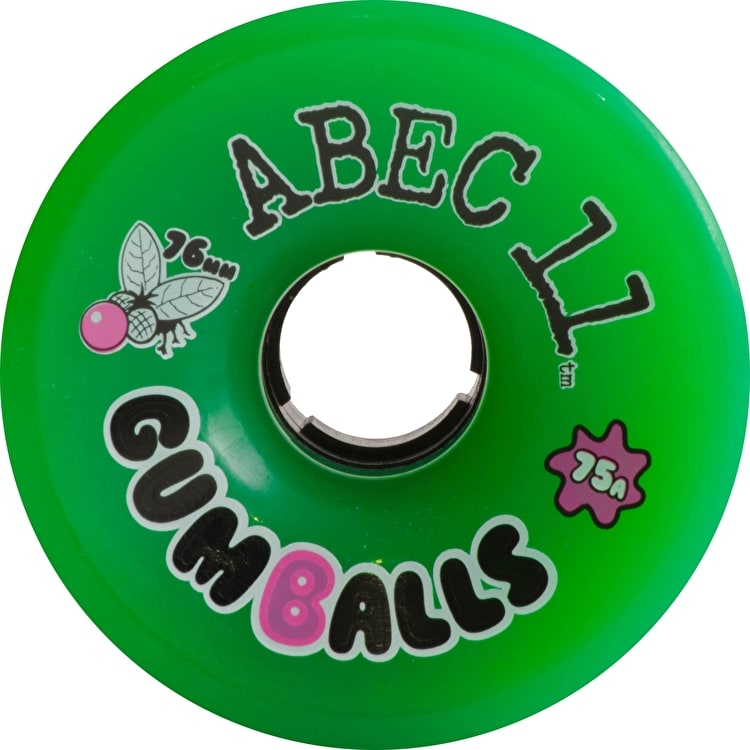 Abec 11 Classic Gumballs 76mm Longboard Wheels (Pack of 4)