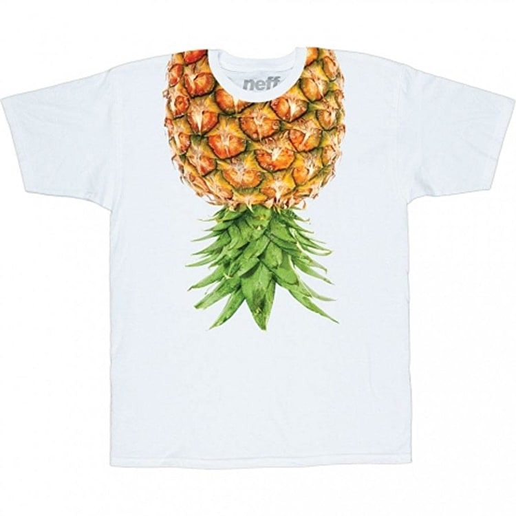 Neff Pineapps T-Shirt - Top White