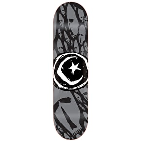 Foundation Star & Moon Skateboard Deck - Skulls 8.125
