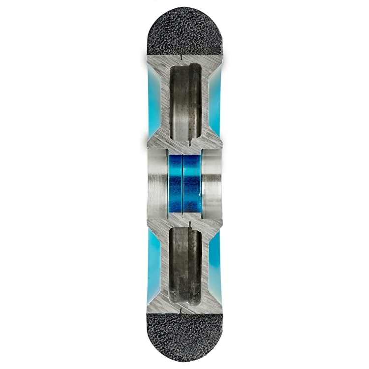 Chilli Pro Coast 110mm Hollow Core Scooter Wheel w/Bearings - Black/Blue