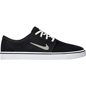Nike SB Portmore Shoes - Black/Medium Grey/White