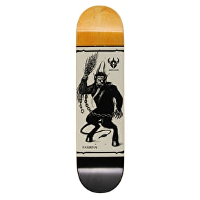 Darkstar Krampus Skateboard Deck - Black 8.125