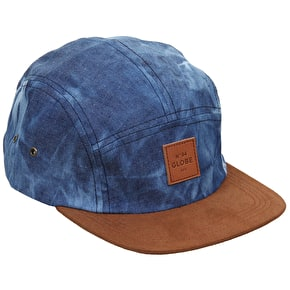 Globe Errol 5 Panel Cap - Acid Blue