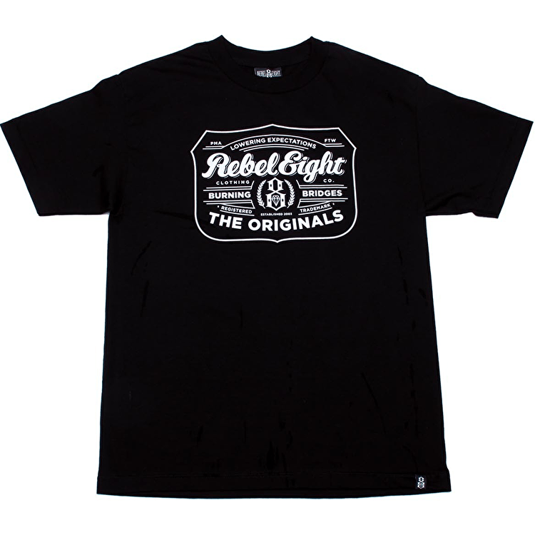Rebel8 Hops T-Shirt - Black