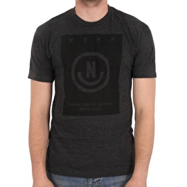 Neff Maitland T shirt - Charcoal Heather