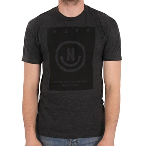 Neff Maitland T-Shirt - Charcoal Heather