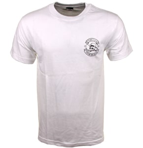 Hard Luck Great Times T-Shirt - White
