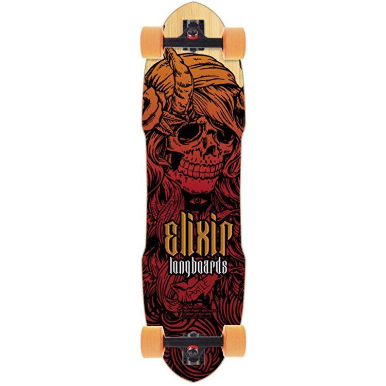 Long Island Longboard - Elixir Series Apostle 35""