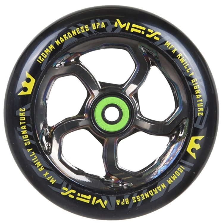 B-Stock MGP MFX Hurricane Wheel - 120mm Nickel (split packaging)