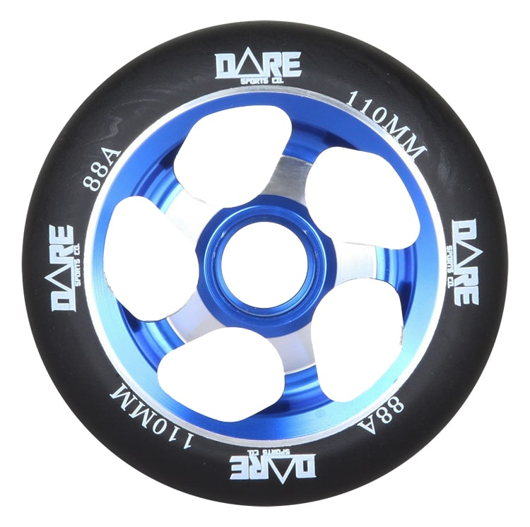 Image of Dare Motion Scooter Wheel - Blue 110mm