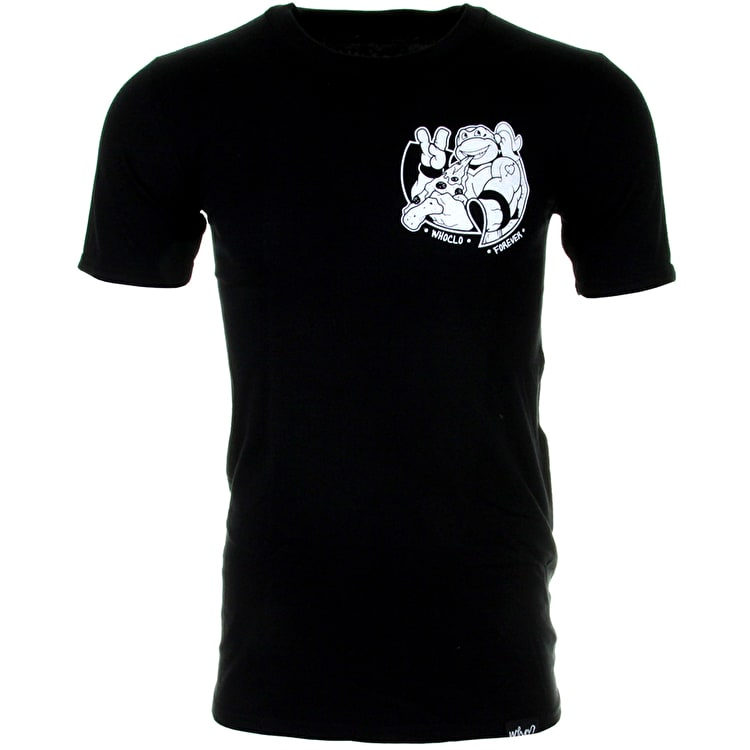 Who? Turtle Power T-Shirt - Black