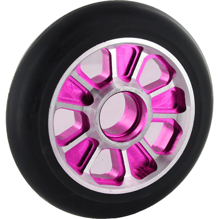 Root Industries Revolver Wheel Black on Pink - 110mm