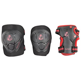 Zycom Child Combo Pad Set - Black/Red