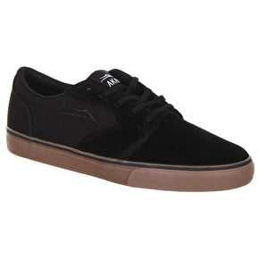 Lakai Fura Shoes - Black/Gum/Suede