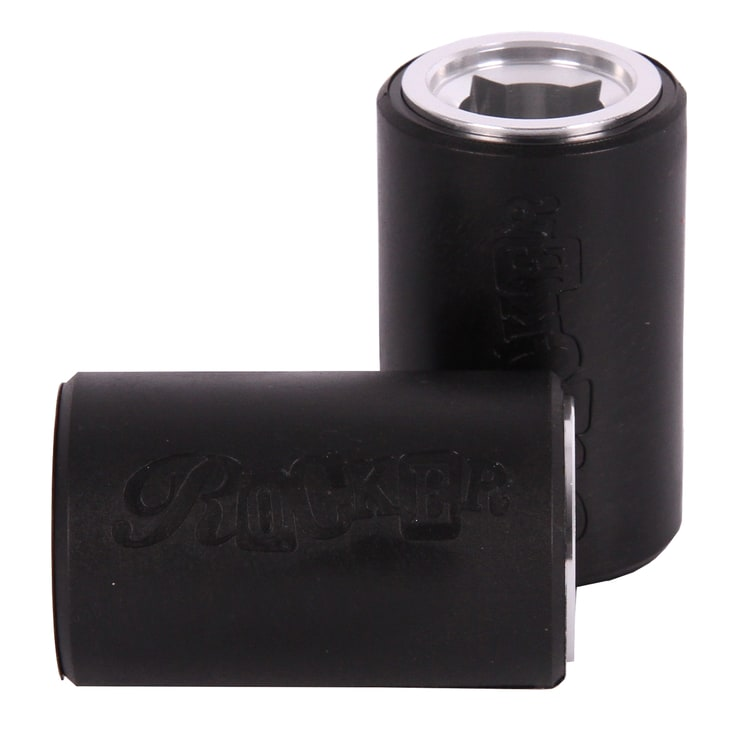 Rocker IROK 10mm Stunt Plegs - Black/Silver
