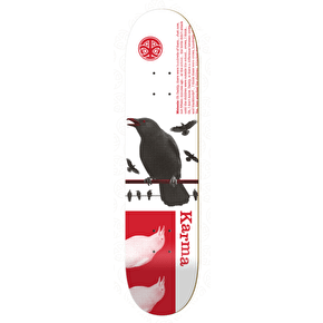 Karma Cult Film Series Skateboard Deck - Birds 8.375