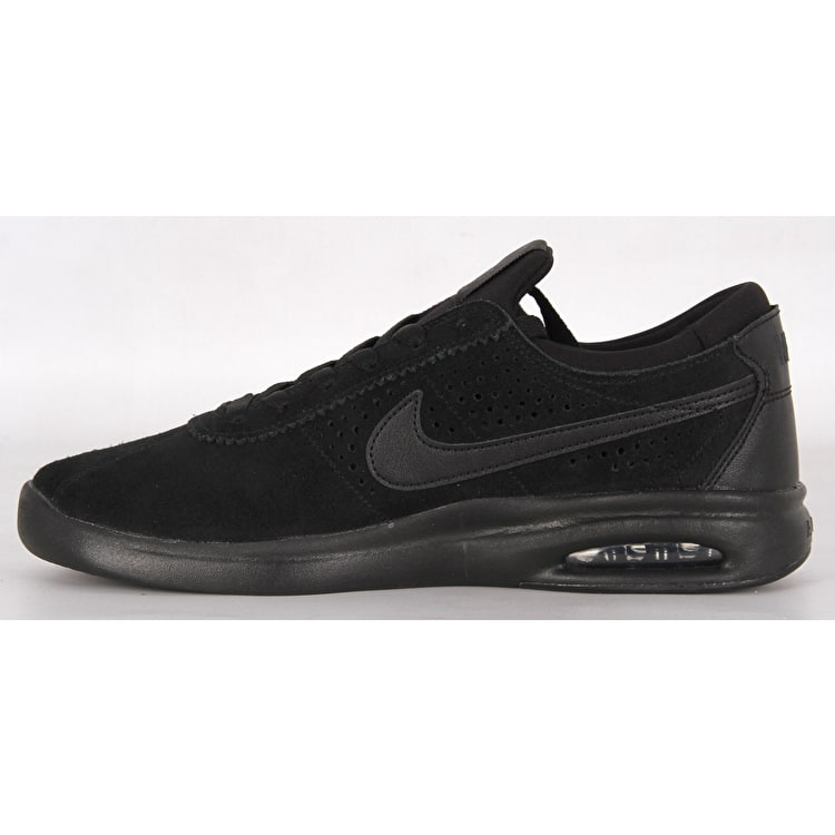 Nike SB Air Max Bruin Vapor Skate Shoes - Black/Black/Anthracite