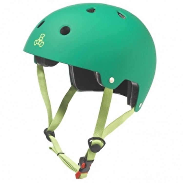 Triple 8 Brainsaver Dual Certified Helmet Kelly Green