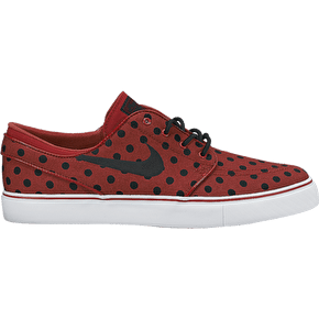 Nike Zoom Janoski Canvas Premium Shoes - Team Red/Black