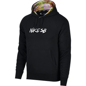 Nike SB Dri-Fit Everett Quilt Hoodie - Black/White