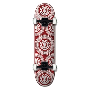 Element Complete Skateboard - 92 Seal Red 8.25