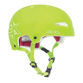 B-Stock REKD Elite Semi-Transparent Helmet Green Medium 56-57cm (Box Damage)