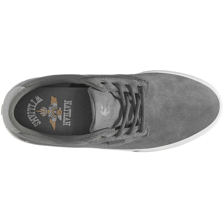 Etnies Jameson Vulc Nathan Williams Skate Shoes - Dark Grey