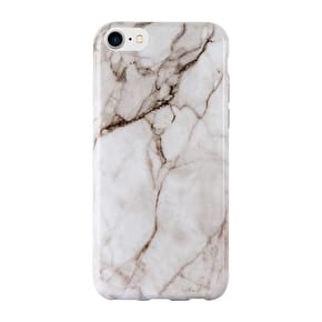Aero Marble Gel iPhone Case - White