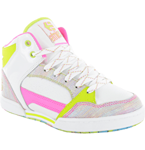 Etnies Uptown 2.0 Kids Shoes - White/Pink