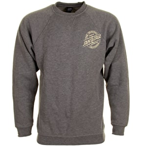 Santa Cruz Crewneck - Bolt Dark Heather