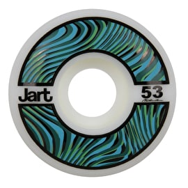 Jart Psycho 102a Skateboard Wheels - Pink 52mm