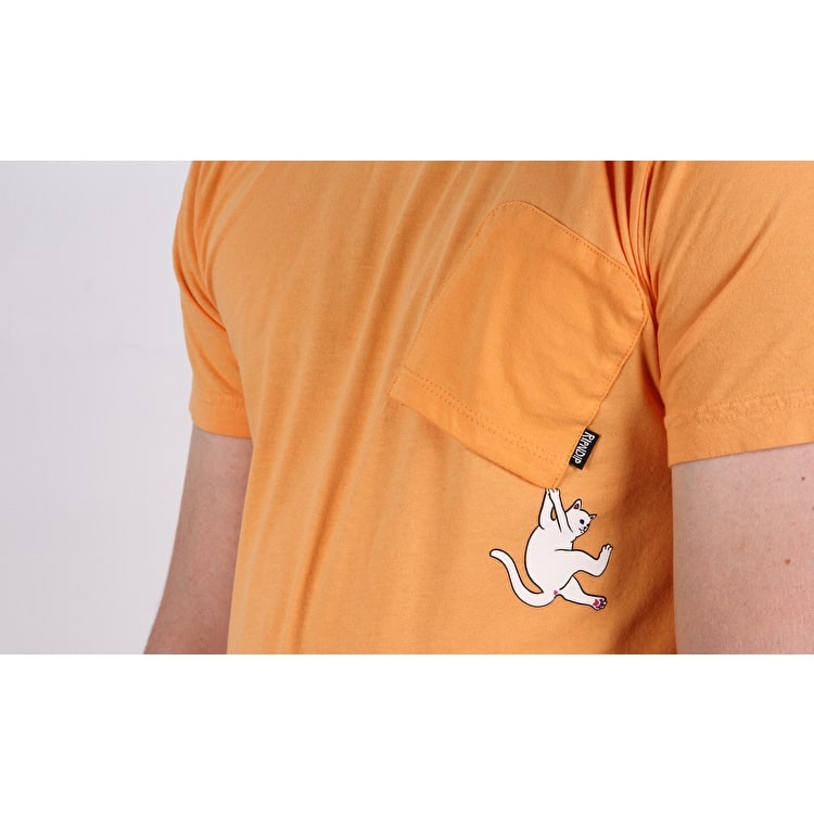 RIPNDIP Hang In There T shirt - Orange