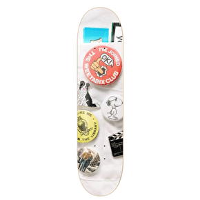 Isle Enamel Skateboard Deck - Jacob Harris Guest 8.375