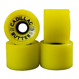 Cadillac Butters Longboard Wheels 70mm - Yellow