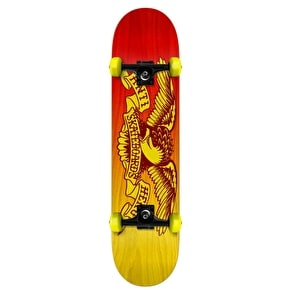 Anti Hero Eagle Fade Mini Skateboard - 7.38