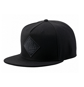Neff All Day 2 Snapback Cap - Black/Black