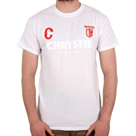 Chrystie X CSC T shirt - White/Red