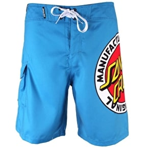 Santa Cruz MF Original Kids Boardie Shorts - Swedish Blue