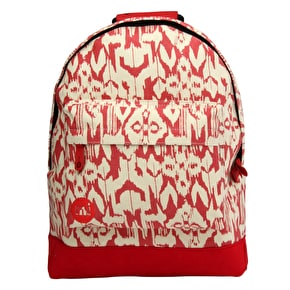 Mi-Pac Backpack - IKAT Red
