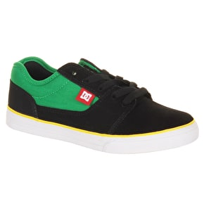 DC Bristol Kids Shoes - Black/Emerald/White