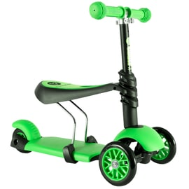 Y-Volution YGlider 3 In 1 Complete Scooter - Green/Black