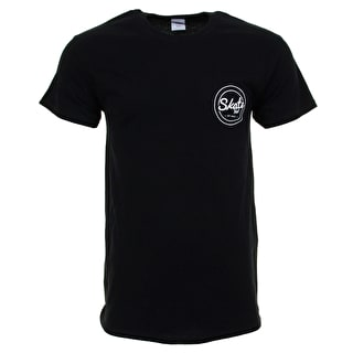 SkateHut Circle Dot Logo Kids T-Shirt - Black