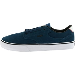 Etnies Malto LS Skate Shoes - Navy/White - UK Size 7 (B-Stock)