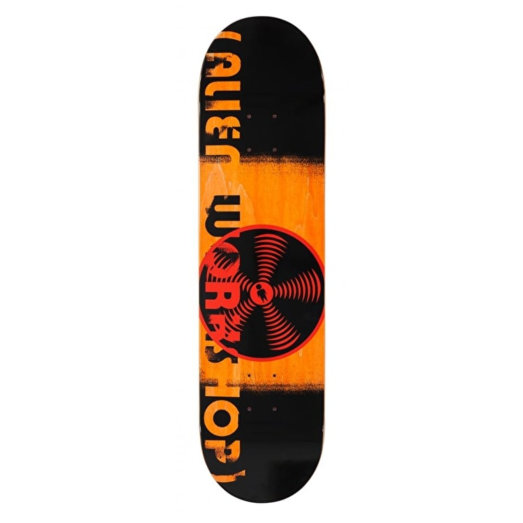 Alien Workshop Logo Skateboard Deck - Sonic 2.0 8.125""