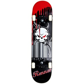 B-Stock Renner A Series Blood Soaked Complete Skateboard (Slightly Scuffed)