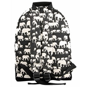 Mi-Pac Backpack - Elephants Black