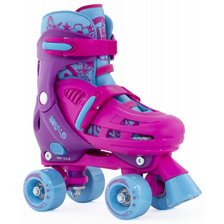 B-Stock SFR Hurricane Adjustable Quad Skate - Pink - UK 3 - UK 6 (slightly soiled)